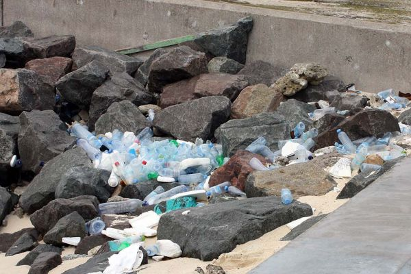 Waste management problems and coastal engineering in Malé, Maldives.