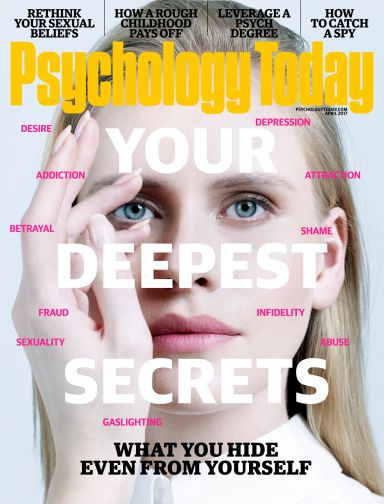 Psychology Today Magazine March 2017