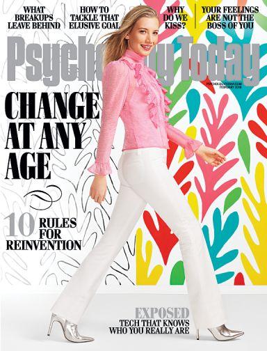 Psychology Today Magazine January 2018