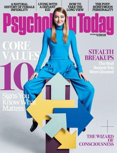 Psychology Today Magazine September 2018