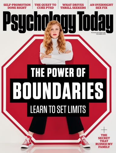 November 2019 magazine cover