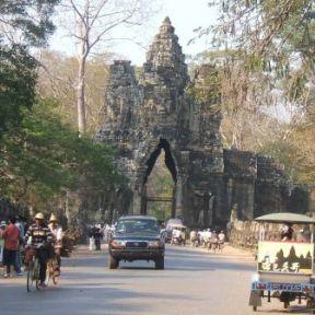 Siem Reap street scene