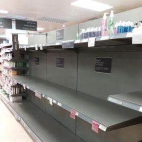 Panic buying or prudence? Who can say?