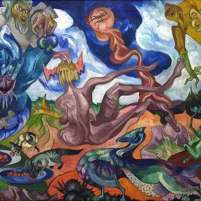 Painting by Stanislaw Ignacy Witkiewicz