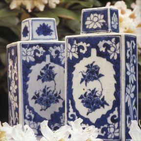 Chinese tea caddies, 1640