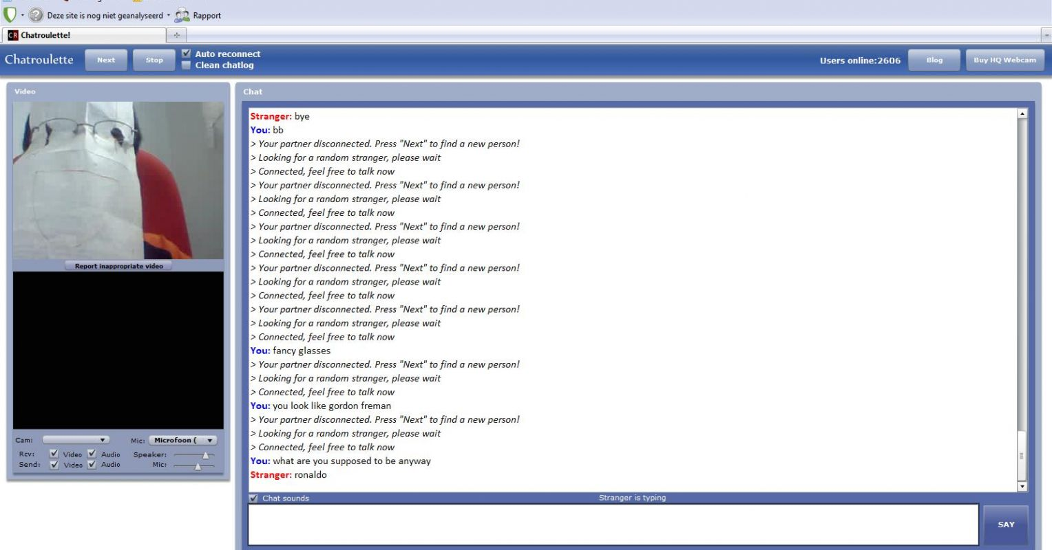 Chat chatroulette Omegle chat