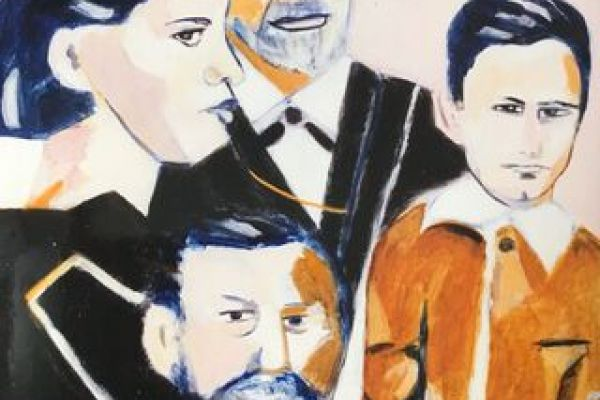 Photos Freud and Son, Freud and Daughter