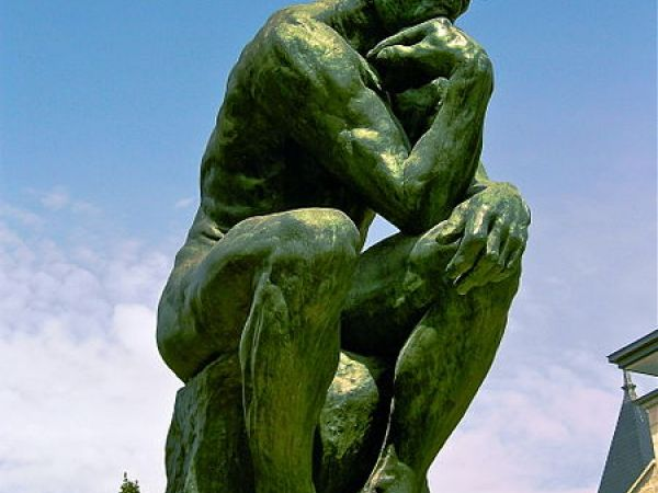 "Viewing Rodin's ""Thinker"" can reduce religious belief."