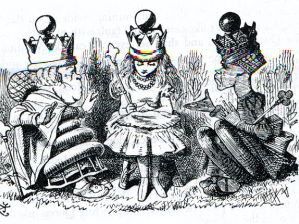 Lewis Carroll anticipated Daryl Bem by over a century. Was this precognition?
