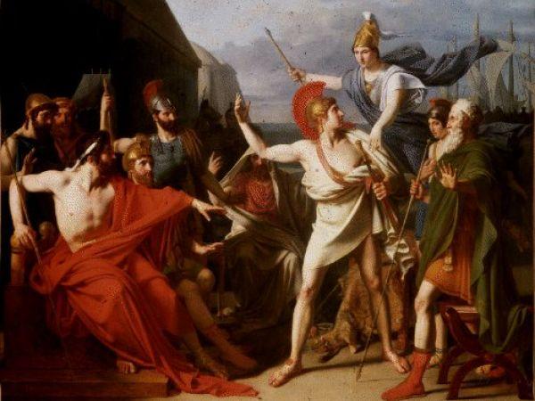 Wrath of Achilles by Michel Drolling (public domain 1819)