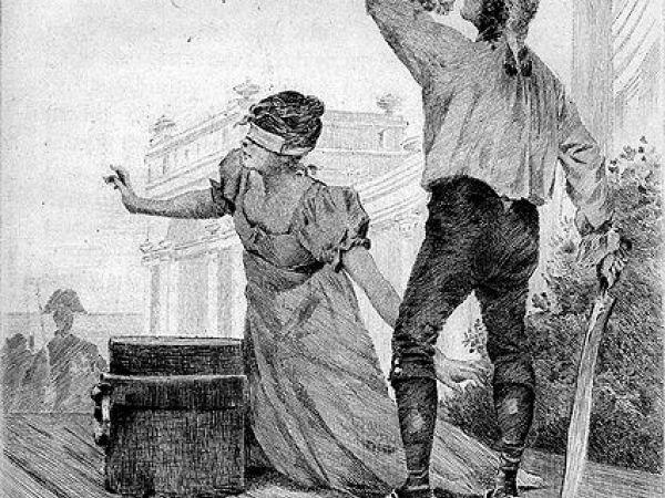 Title page of Honoré de Balzac's The Executioner (1831).