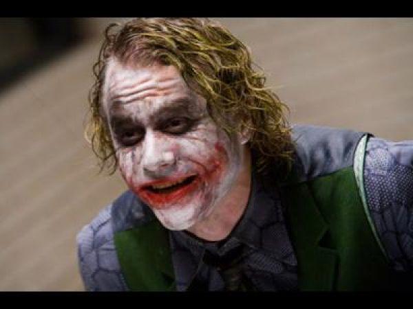 Health Ledger as The Joker in The Dark Knight