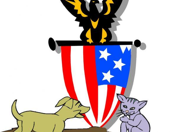 dog cat bond democrat republican libral conservative