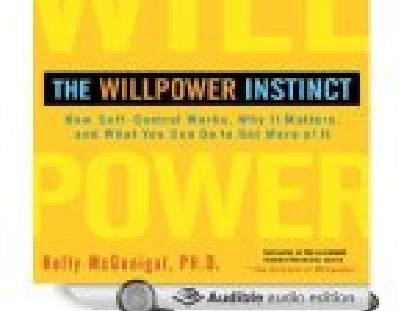 """Cover of """"The Willpower Instinct"""""""