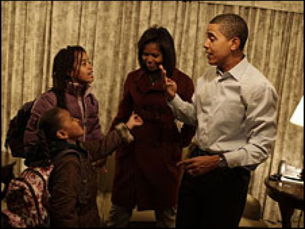 What kind of father is President Obama?
