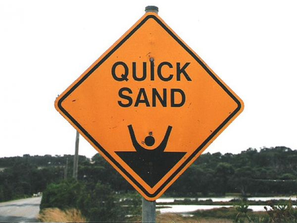 worry is like quicksand