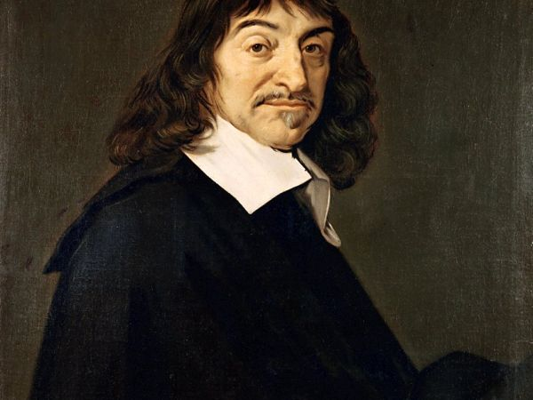 After Frans Hals--Portrait of René Descartes (1596-1650)