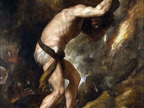 "Titian's ""Sisyphus."""