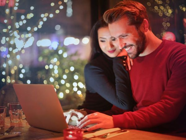 Sharing online? Include your partner