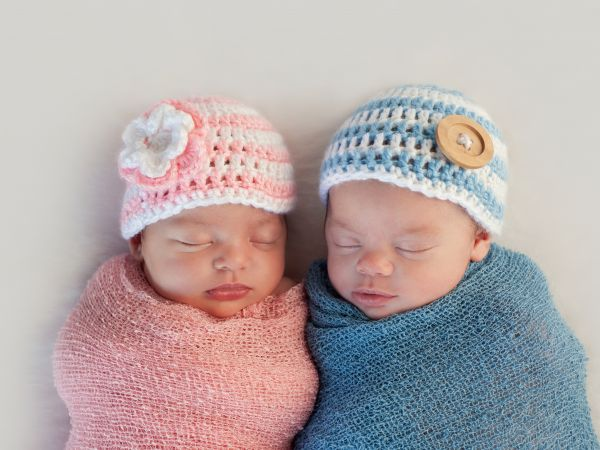 Girl and Boy Twins