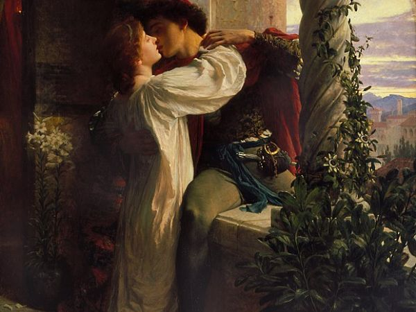 "Frank Dicksee's ""Romeo and Juliet"""