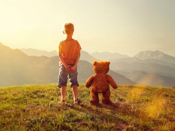 Boy with Imaginary Companions