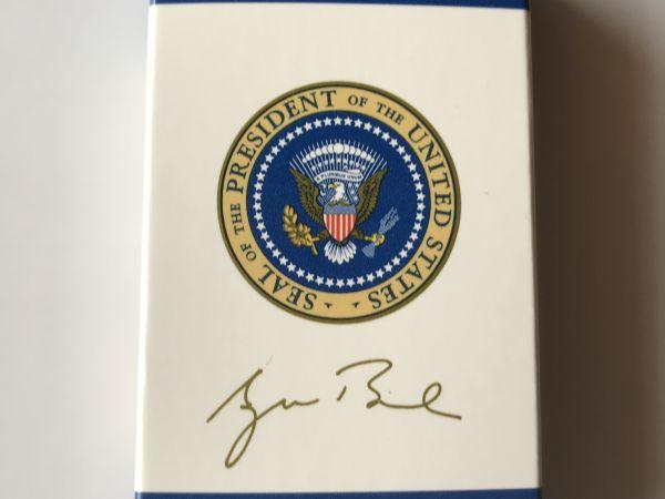 Memorabilia of George W. Bush.