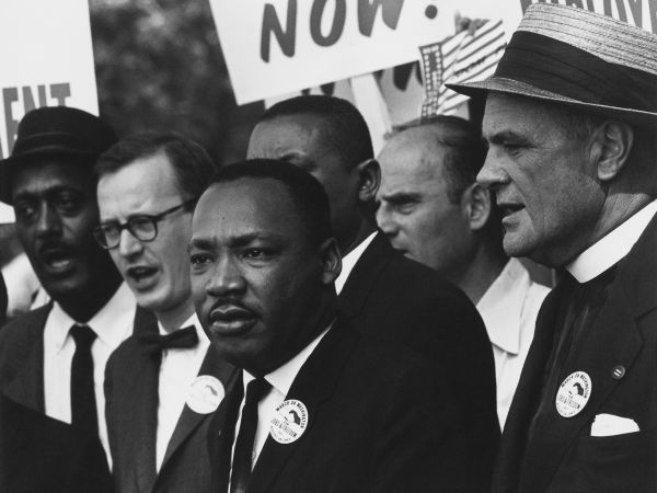 Dr. Martin Luther King, Jr., Civil Rights March on Washington, D.C., 1963