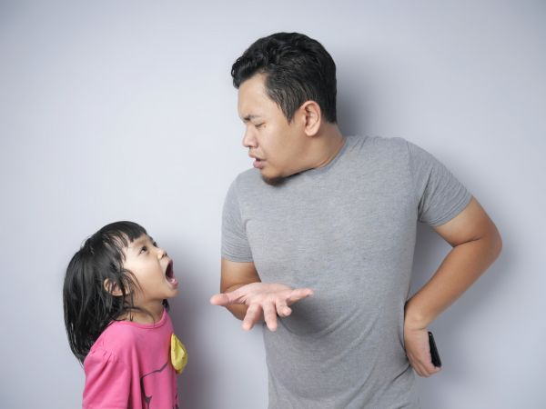 My daughter pushes me away.  Why is her mother teaching her to hate me??
