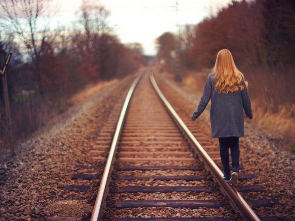 Girl on Track