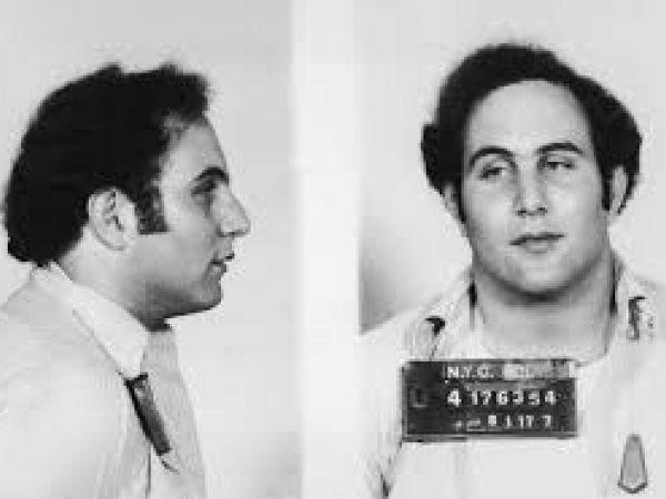 David Berkowitz mugshot 1977