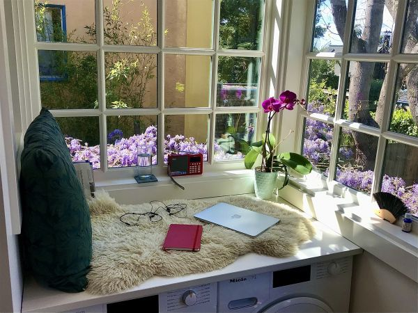 The perfect WFH space may be hiding in your laundry room