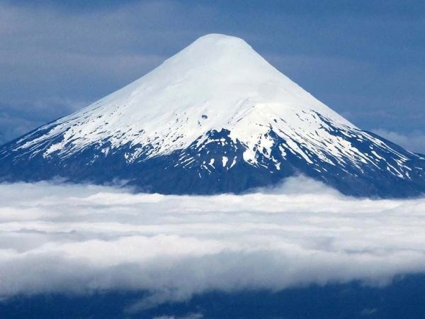 How might climate change affect eruptions from Osorno volcano in Chile?