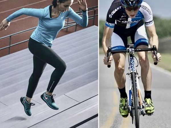 Competitive athletes.