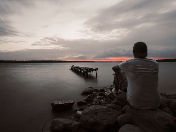 Solitude and loneliness aren't the same. You can be alone but not lonely. Loneliness thrives on social isolation.