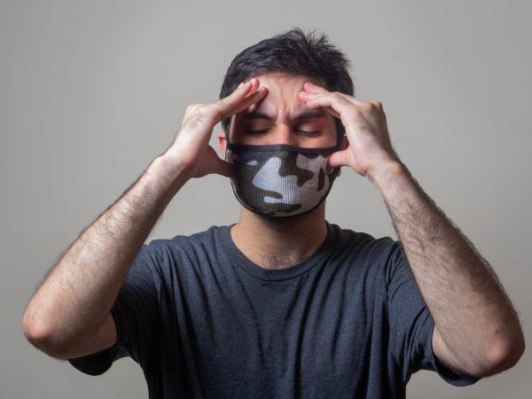 冠状病毒感染期间患有偏头痛的男性
