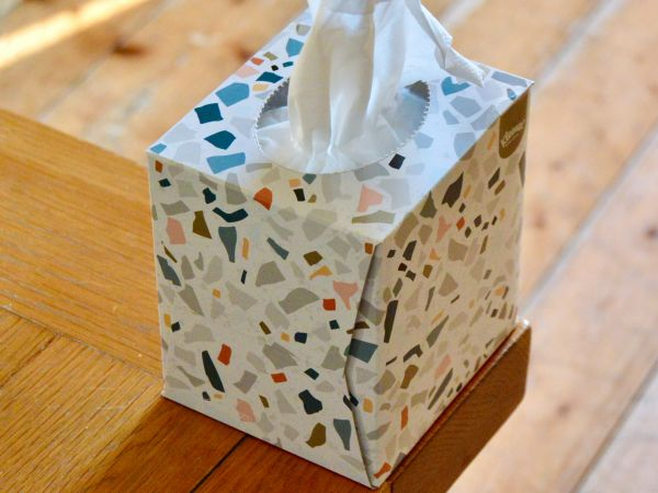 Tissues can only hold your tears, not your experiences.