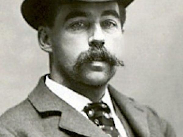 HH Holmes mugshot