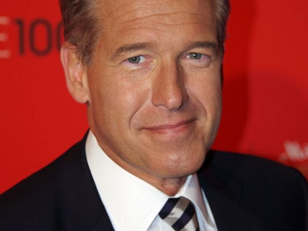 Now-suspended NBC News anchor Brian Willaims