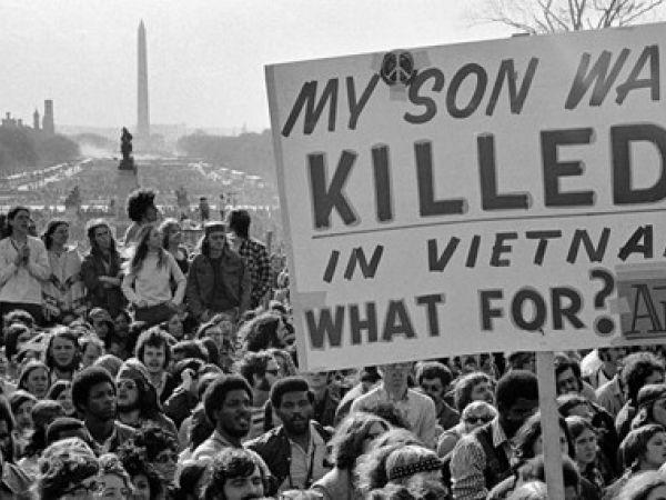 Anti-Vietnam War rally on the National Mall, Washington, DC, 1971