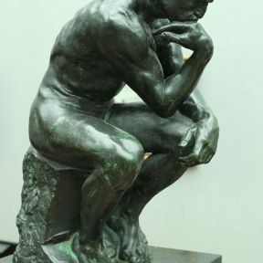 Dguendel: Alte Nationalgalerie, Auguste Rodin, the thinker