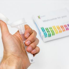 A home DNA kit.
