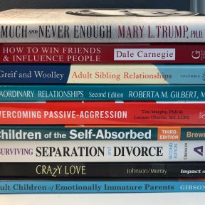 Mary Trump adds to the stack of resources we can learn from.