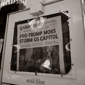 USA Today's Banner Headline